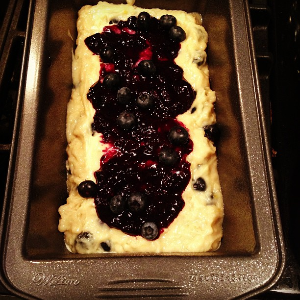 Blueberry Streusel Bread #Recipe