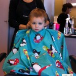 Sawyer's 1st Haircut