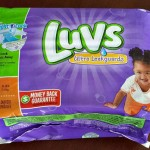 New Luvs NightLock Diapers {Review and #Giveaway}