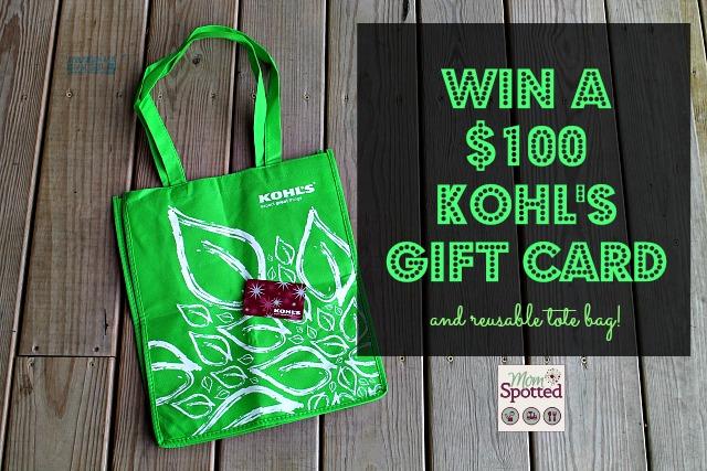 Kohls $100 Gift Card Giveaway