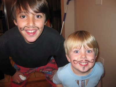 Johnny Gavin mustaches