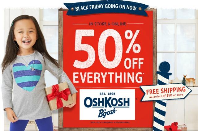 OshKosh Black Friday Sale