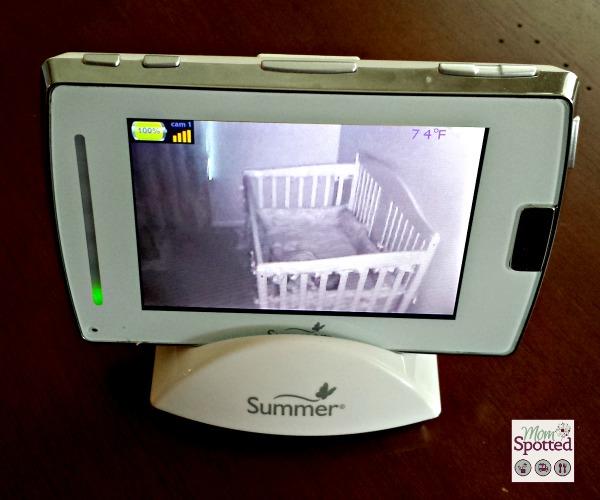 summer infant baby touch 2 digital color video monitor review momspotted. Black Bedroom Furniture Sets. Home Design Ideas