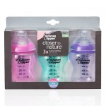 Tommee Tippee Snowflake Bottle & Pacifier Set AND Colour My World Line {Review}