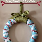 Holiday Winter Craft Wreath #DuckTheHalls
