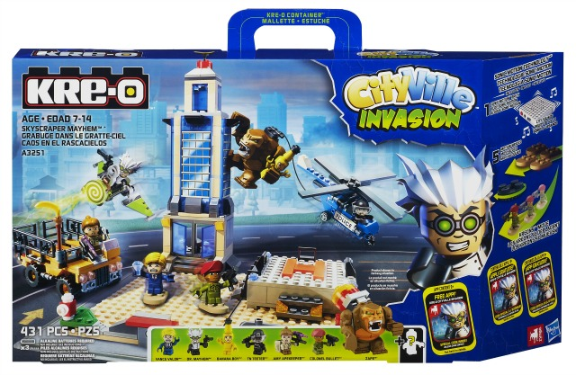 KRE-O CityVille Invasion Skyscraper Mayhem Set
