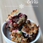 Holiday Magic Bars #Recipe