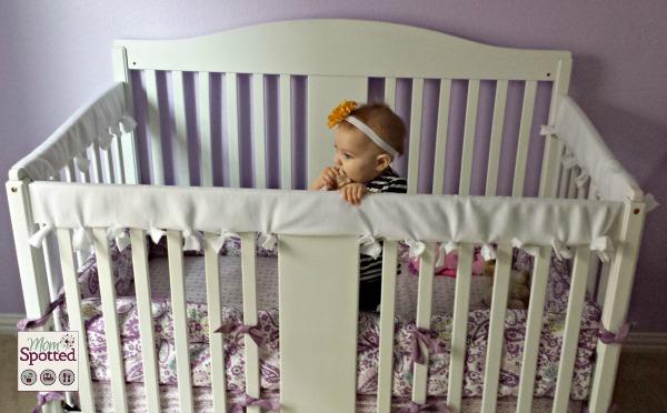 rail and crib dolce conv satin babi grey primo kids guard collection i