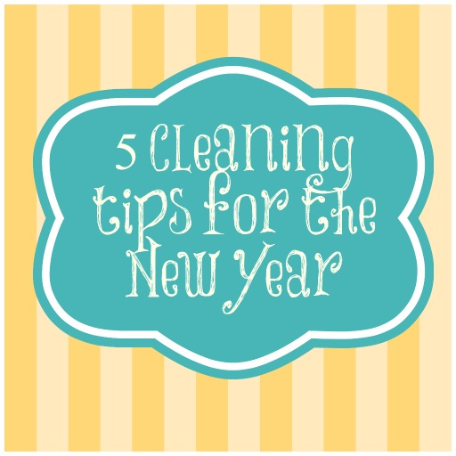 5 Cleaning Tips for the New Year