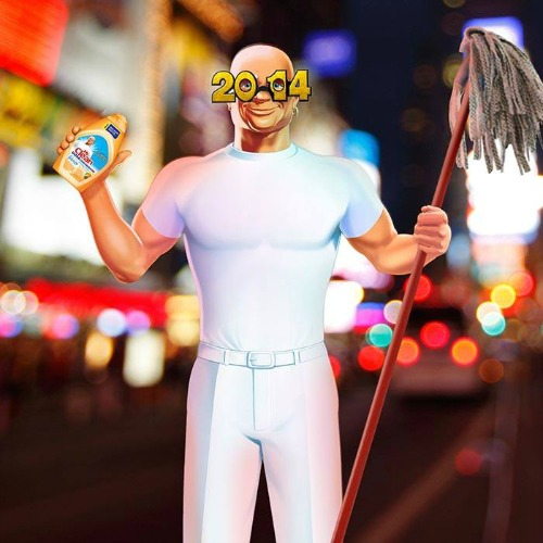 Mr. Clean Gets It Clean in 2014 #NewYearsClean 3