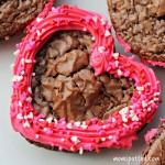 Cute Heart Shaped Brownies Perfect for Valentine's Day!