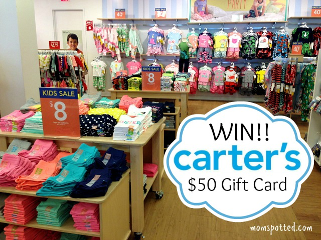 Carter's Baby and Kid Up to 50% Off Sale {$50 Gift Card Giveaway} #CartersSpringStyle