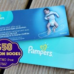 Pampers Olympic Coupon Book