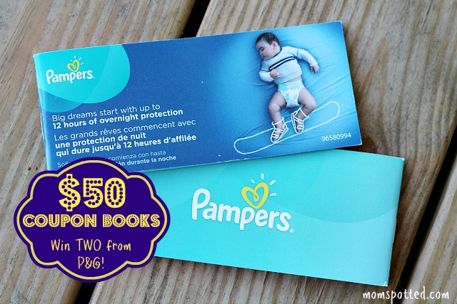 Win TWO $50 P&G Coupon Books from Pampers {Includes FREE Shutterfly Photo Books!}