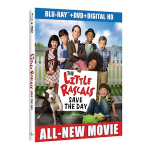 The Little Rascals Save the Day available on Blu-ray, DVD, & Digital HD April 1st