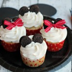 Mickey & Minnie Mouse Cupcakes for Birthday Party  #momspotted