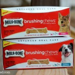 Milk-Bone® Brushing Chews for your Dog's Advanced Oral Care {Plus, Visa Gift Card #Giveaway!}