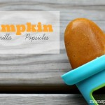 Pumpkin Vanilla Popsicles {Recipe} #PumpkinCan
