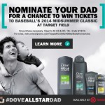 Celebrate your #DoveAllStarDad with Dove Men+Care available at Target