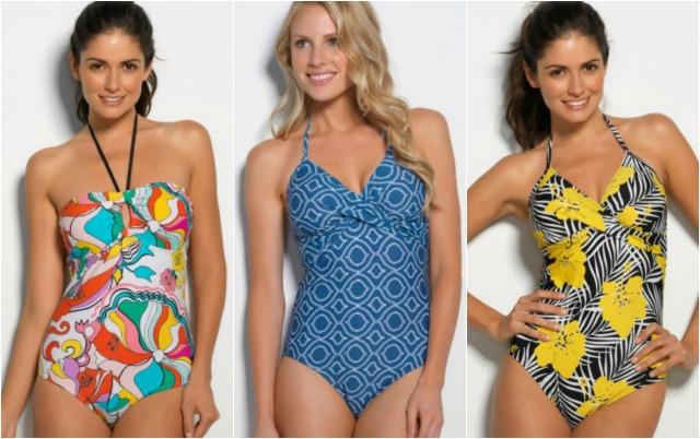 Hapari Full Piece Swimwear Collage #momspotted