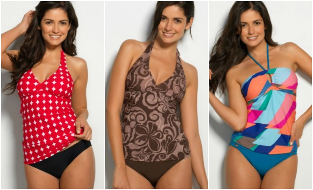 Hapari Swimwear Tankini's Collage #momspotted