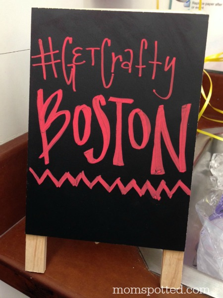 Michael's #GetCraftyBoston Event in Saugus MA Boston #momspotted