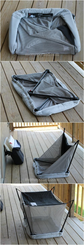 BabyBjörn Travel Crib Light Fold up how to