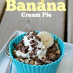 Pumpkin Banana Cream Pie {Recipe} #PumpkinCan
