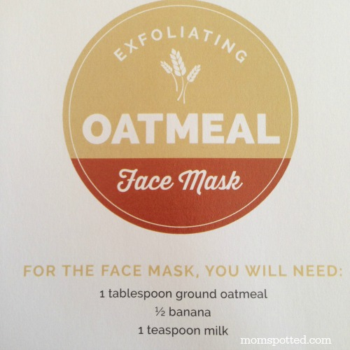 Exfoilating Oatmeal Face Mask Recipe