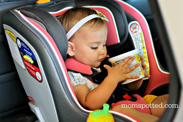 Easy To Install AND Clean Chicco NextFitZip Convertible Car Seat