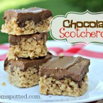 Chocolate Scotcheroos #Recipe {My Family's Favorite Summer Treat}