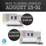 Back to School Savings with Silhouette America! Promo Code Valid through 8/31