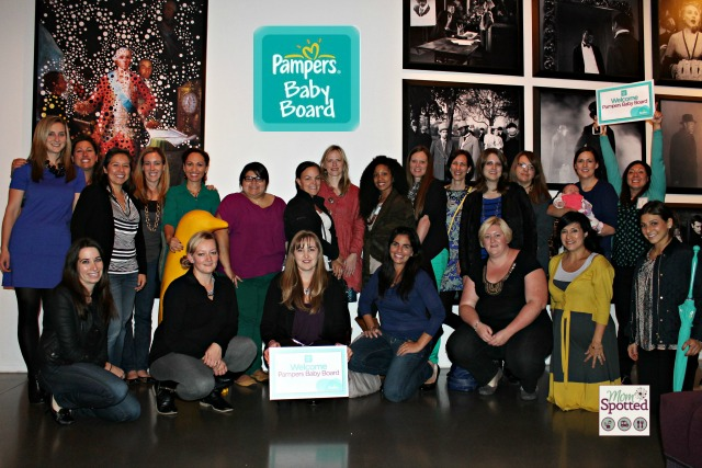 Pampers Baby Board Members Moms Blog Ambassadors 2013