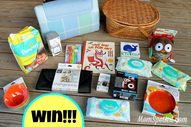 My Visit to P&G Headquarters! Announcing NEW Pampers Wipes Styles {$200+ Prize Pack #Giveaway}
