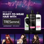 TRESemmé amp up your style