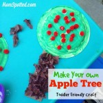 Make Your Own Apple Tree {Toddler Friendly #Craft} momspotted.com #applecraft #toddlercraft #appletree