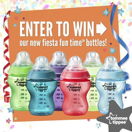 tommee tippee Closer to Nature Fiesta Fun Time Collection Bottles #Giveaway!