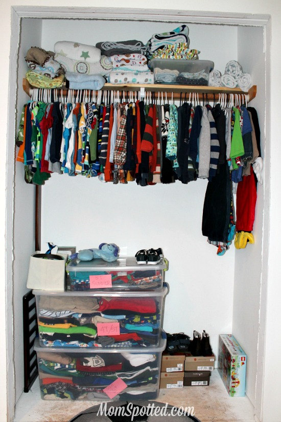 Exceptional Organizing Kids Clothing U0026 Closets Momspotted.com