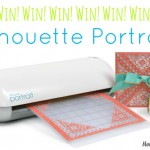 Make Amazing Crafts Easy! Silhouette Portrait Electronic Cutting Machine Giveaway!