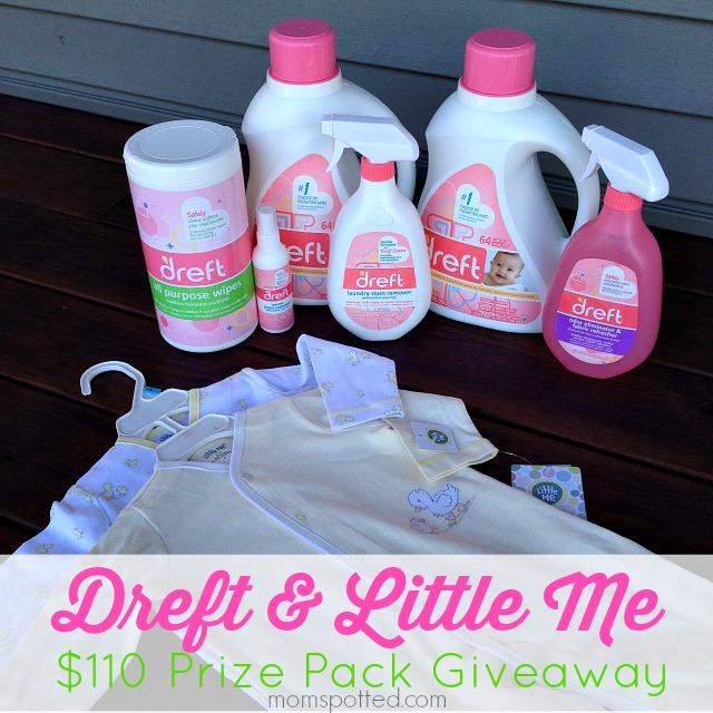 Dreft & Little ME Prize Pack Giveaway