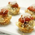 Chicken Parm Poppers Recipe #NewTraDish