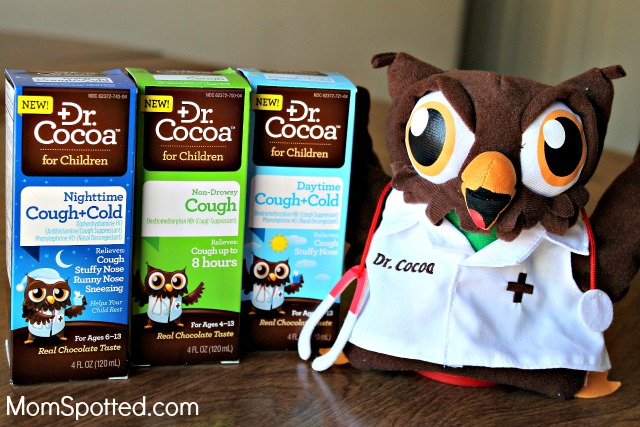 Cough and Cold Relief With a Smile From Dr. Cocoa