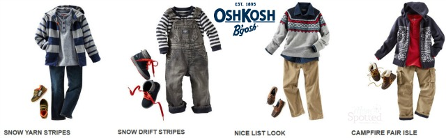 OshKosh Boys Holiday 2014 Line