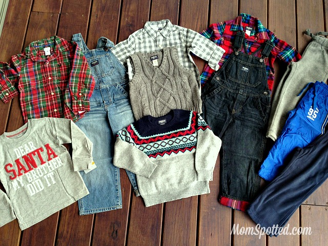 OshKosh B'gosh Has Our Boys Holiday Clothing Covered & Coupon #GIVEHAPPY