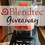 Start the New Year Off Right with a Blendtec #Giveaway