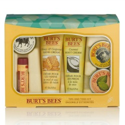 Burt's Bees Tips and Toes Holiday 2014 Kit