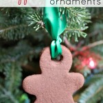 DIY Cinnamon Ornaments {2 Ingredient Recipe} Easy for Kids!