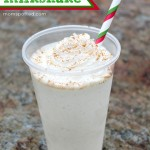 Easy Eggnog Milkshake Recipe