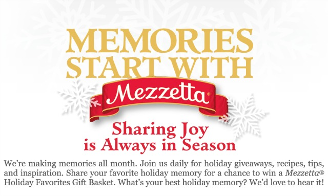 Memories Start with Mezzetta
