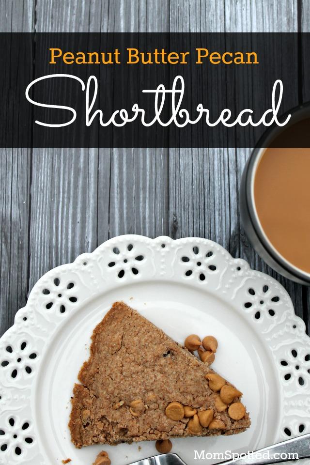 Peanut Butter Pecan Shortbread Recipe